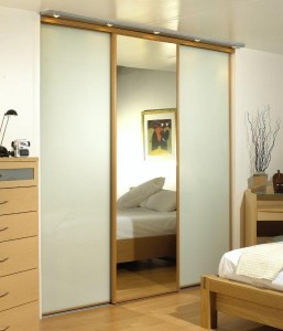 Beech Frames, White & Mirror Glass Panels